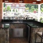 Millcreek Landscape Design backyard outdoor kitchen design