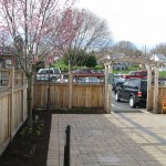 Millcreek Landscape Design trees and fencing