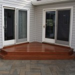 Millcreek Landscape Design patio stairs and deck