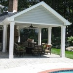 Millcreek Landscape Design backyard patio swimming pool