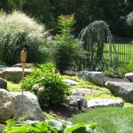 Millcreek Landscape Design pond landscaping