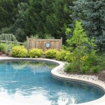 Millcreek Landscape Design backyard landscaping around a pool