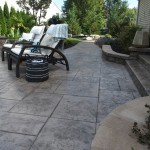 paver patio with furniture