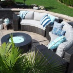 outdoor furniture around fire pit